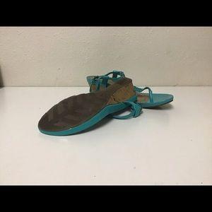 dexflex comfort Shoes - Dexflex Comfort turquoise sandals with bling -9